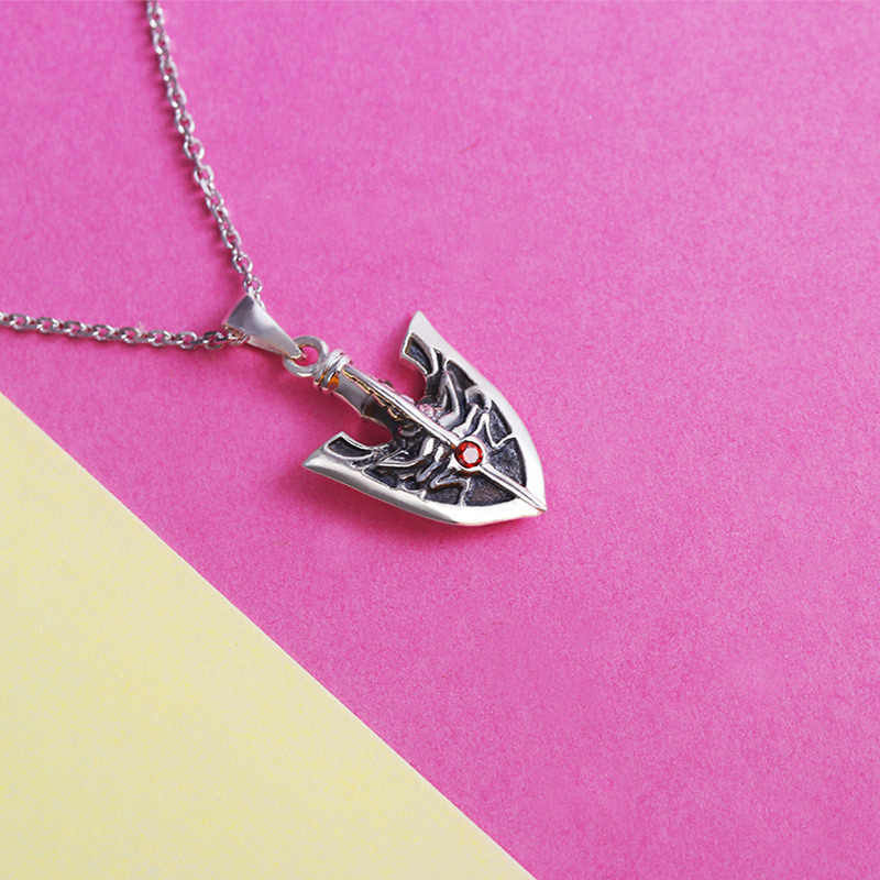 Anime Jojo S Bizarre Adventure Giogio Stand Arrow Necklace S925 Sterling Silver Pendant Fashion Jewelry Cosplay Xmas Gift Aliexpress We don't know when or if this item will be back in stock. anime jojo s bizarre adventure giogio