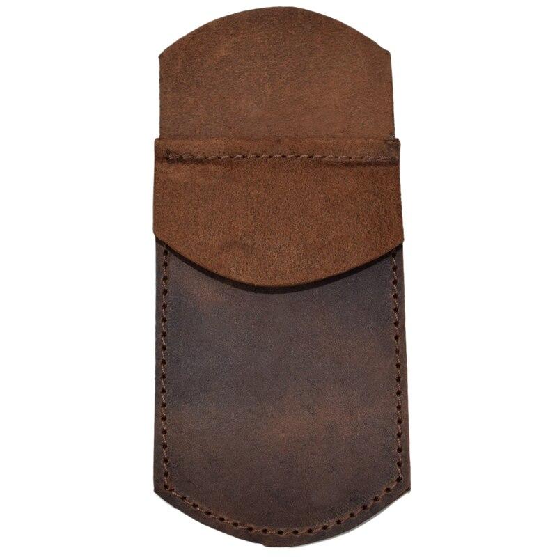 Protecteur de crayon de poche en cuir Durable fait main pour porte-stylo de bureau et de travail
