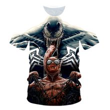 2020 Summer Newest Boy Girl Venom t-shirt Kids 3D  Children Casual Printed T-shirts Short Sleeve Pullover  T Shirt embroidered pullover t shirt