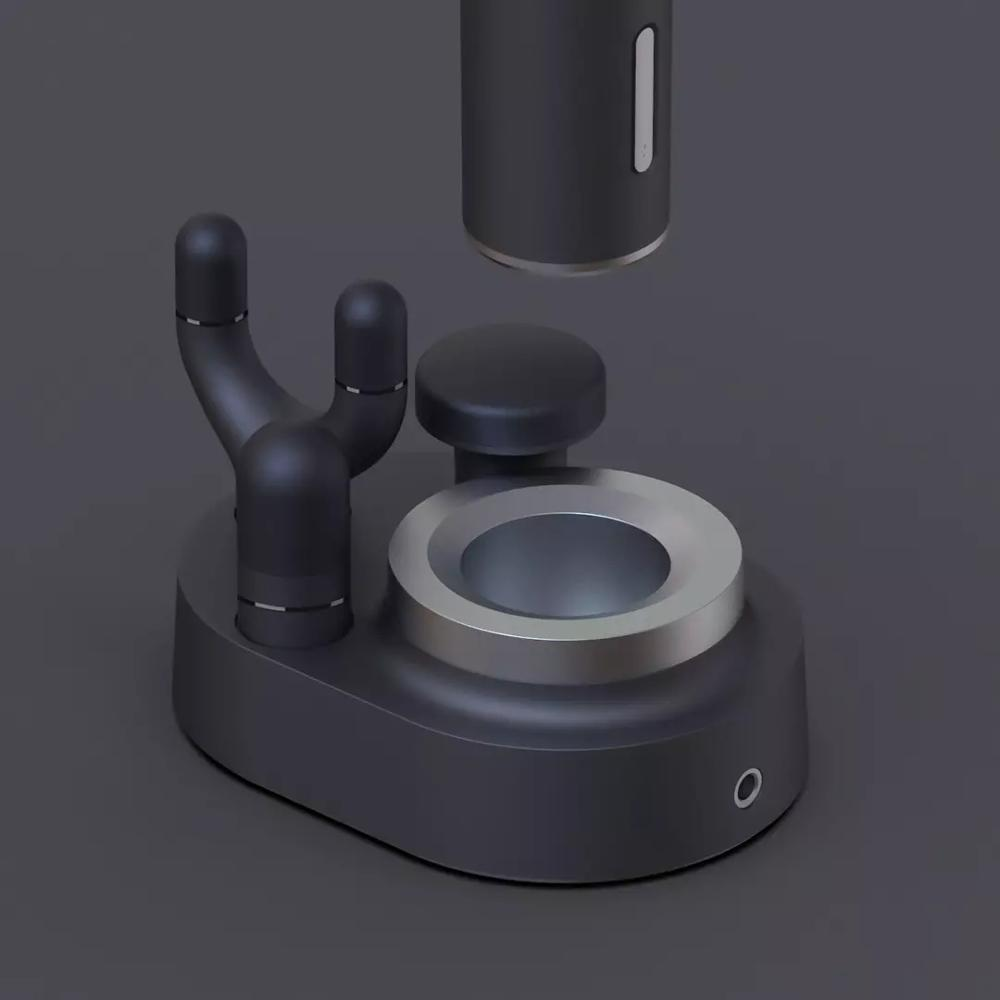 2020 neue Xiaomi mi Meavon 3200r/min Körper Massager Elektrische Smart Doppel Modus Fascia Gun Silikon Kopf Tiefe Massage für Home Gym