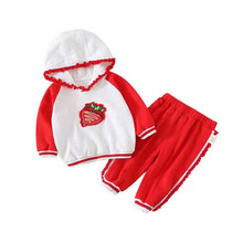 0-4 Years High Quality Children Clothing Set Autumn Winter Clothes Costume Outfit Suit Kids Tracksuit Girls