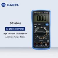 High Precision Temperature Control Digital Display Multimeter Automatic Range For DC Voltage Temperature Triode Circuit Test