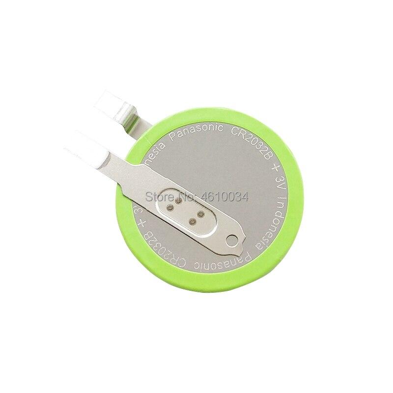 10 pces panasonic button bateria cr2032 toe