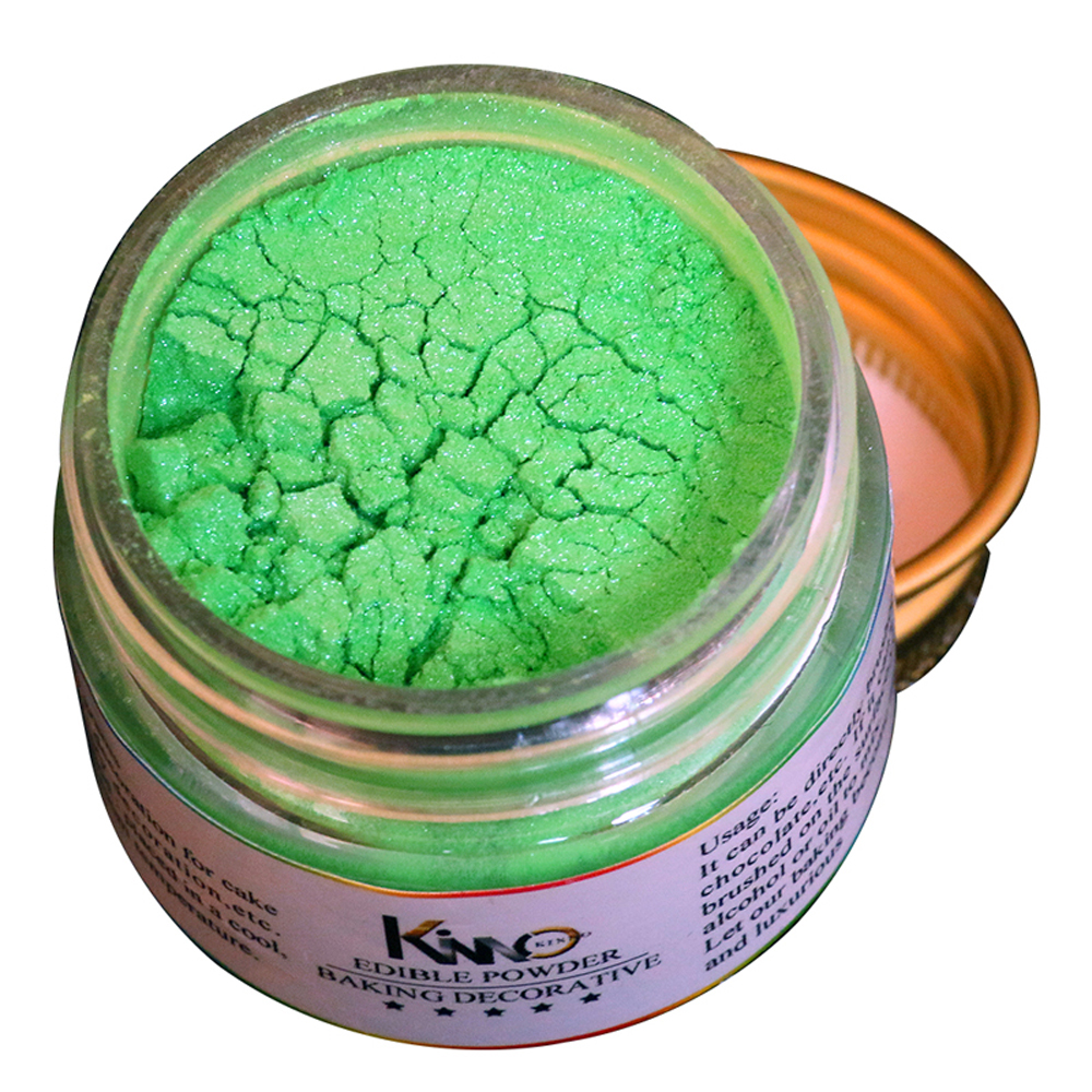 Edible Food Powder 10g Green Fondant Pigment Coloring To Decorate Cake Bread Chocolate Arts Food Grade Food Decoration