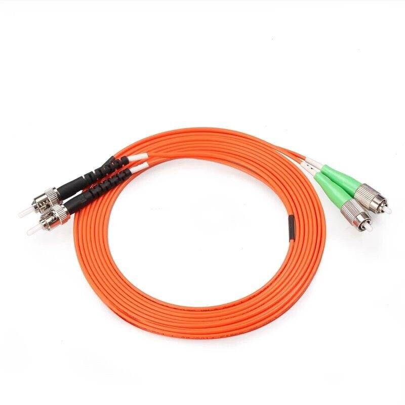 5 шт./лот FC/APC-ST/UPC оптоволоконный патч-корд 1 м 2 м 3 м 5 м дуплексный многомодовый оптоволоконный перемычка