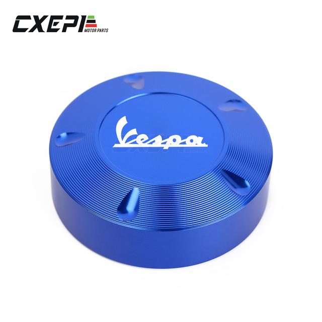 Hot Sale Gas Fuel Tank Filler Oil Cap Cover for Piaggio Scooter VESPA GTS GTV LX Primavera Sprint 125 150 250 300 300ie Super