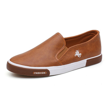 Casual Shoes Men Comfortable Leather  Handmade Design Flats Sneakers  1