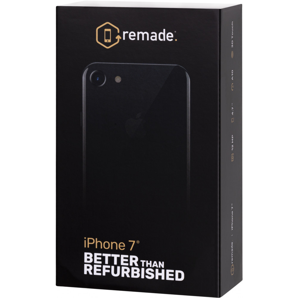 Mobile Phones Remade Iphone7 256Gb smartphone smartphones iOS Iphone 7 A1778 4.7'' 16:9 1334 x 750 2.36GHz 4 Core 2GB RAM 256GB ROM 12Mpix/7 mpx 1 Sim LTE NFC GPS 1950 mah iOS14 I phone