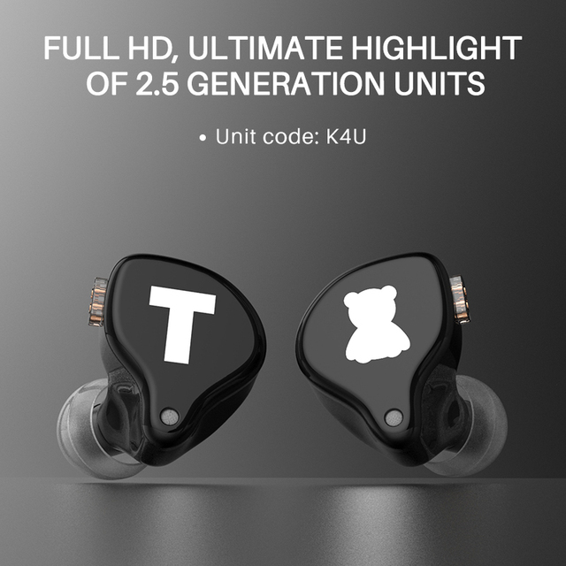 TFZ S2 PRO In-ear Earphone Dynamic Diaphragm Earphone HIFI Bass Headset Earbud With 2Pin Cable 0.78mm Detachable 4