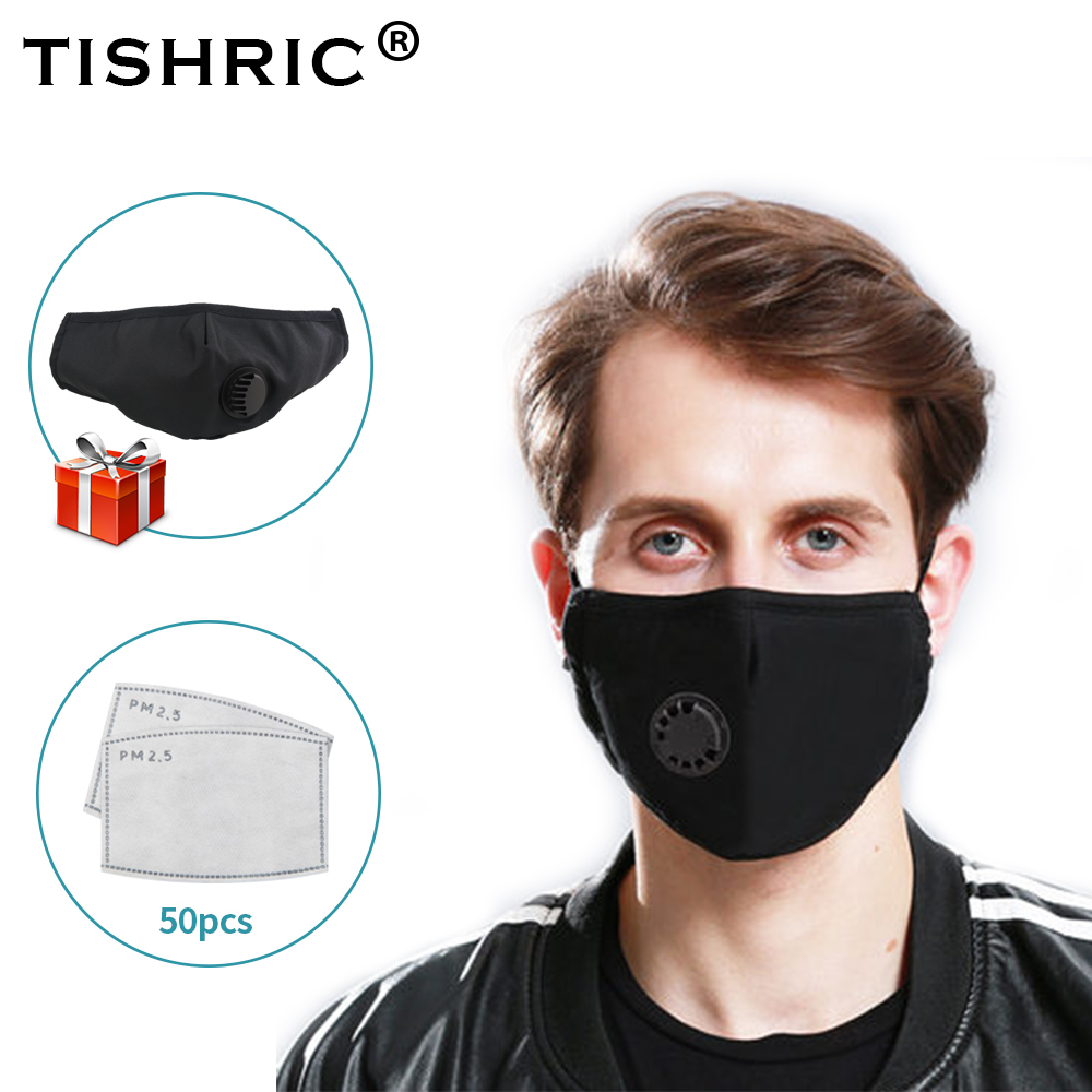 Cotton PM2.5 Activated Carbon Face Mask Filter N95 Anti Dust Anti Flu Protection Virus Masks Filters Disposable For Adult Kids