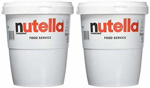 Nutella Big Family Baquets, 3 Kg (pack De 2)