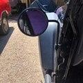 Зеркало от двери для Je-e-p Wrangler боковые зеркала круговой заднего вида быстросъемные зеркала для 2007-2019 Je-ep Wrangler Jk Jl 2 шт