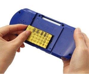Image 3 - Consola de juegos portátil Retro PXP3 Slim Station, 3 , 16 bits, 2 uds., tarjeta de juego integrada, 150 juegos clásicos