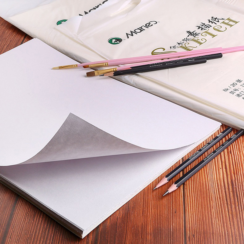 300g/m2 Professional Watercolor Paper 20Sheets Hand Painted Watercolor Book For Artist Student All Sketch