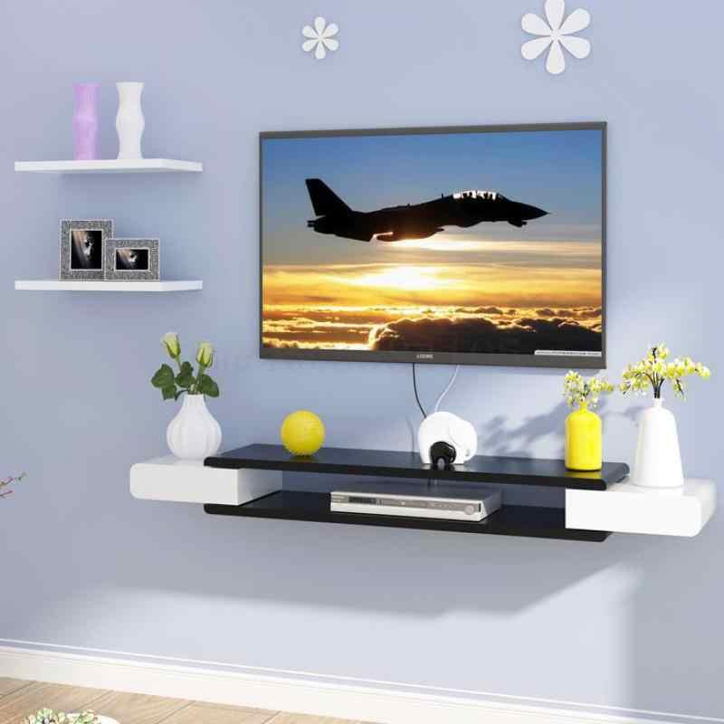 decoration murale de fond etagere meuble de rangement pour tv salon chambre a coucher