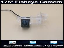Car Rear view Camera 175 Degree 1080P Fisheye Lens Parking Reverse Camera For Renault Fluence 2013 2014 Car Camera