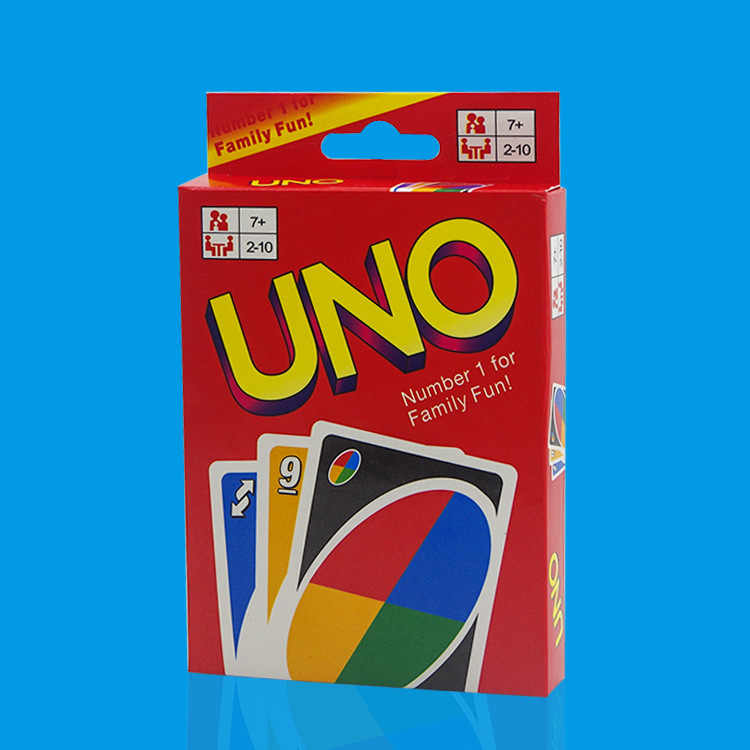 UNO Yoplait Solitaire Board Game Pesta Kartu UNO Yoplait Hukuman Kartu UNO Card Magic Alat Peraga