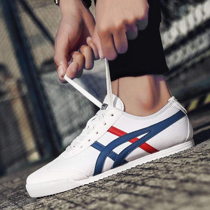 2020 New High Quality Men's Shoes Women's Shoes Couple Shoes Fashion Shoes Sneakers Forrest Shoes Tiger Tennis 36-44