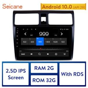 """Image 1 - Seicane 10.1 """"samochodowy odtwarzacz multimedialny dla 2005 2006 2007 2008 2009 2010 Suzuki Swift Android 10.0 HD dotykowy ekran nawigacji GPS"""