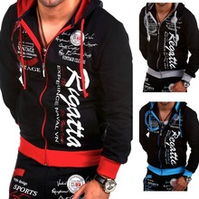 ZOGAA 2019 New Fashion Hoodies Tracksuits Men Sporting Suit Set Sweatshirt+Pant Casual Cotton Size S- XXXL Sweatpants