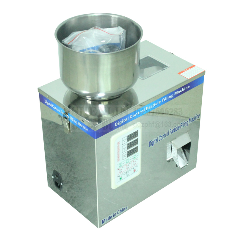 Semiautomatic Weighing Machine Grainluar Powder Filling Machine Packaging Equipment 25g 50g 100g