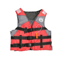 High quality Adult kids Life Vest Jacket Water Sports Man Jacket Swimming Boating Ski Drifting Life Vest with Whistle Free Sizes