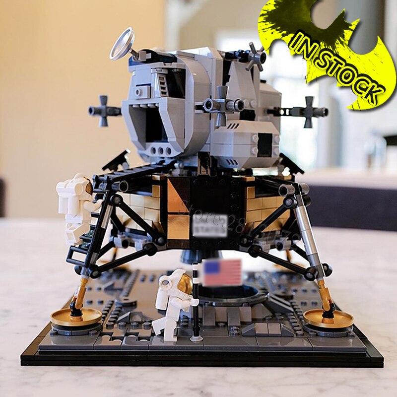 10266 Lepinblocks 60003 Creator Rocket Series 11 Lunar Lander 21309 Model Building Block Bricks Ideas Toys Saturn V  80013