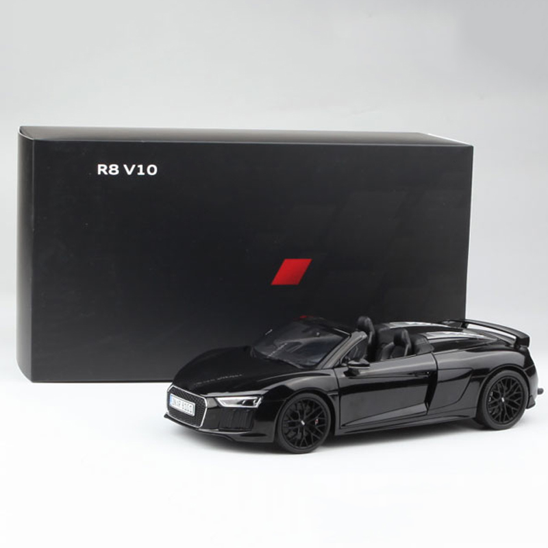 1/18 Scale Boutique Simulation R8 Diecast Alloy Sports Car Model Child Adult Collection Souvenir Gift Indoor Display Decoration