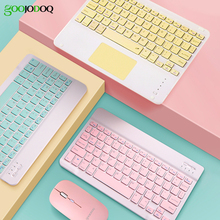 For iPad 10.2 10.8 Bluetooth keyboard Pro 11 Air 3 10.5 Bluetooth Keyboard and Mouse