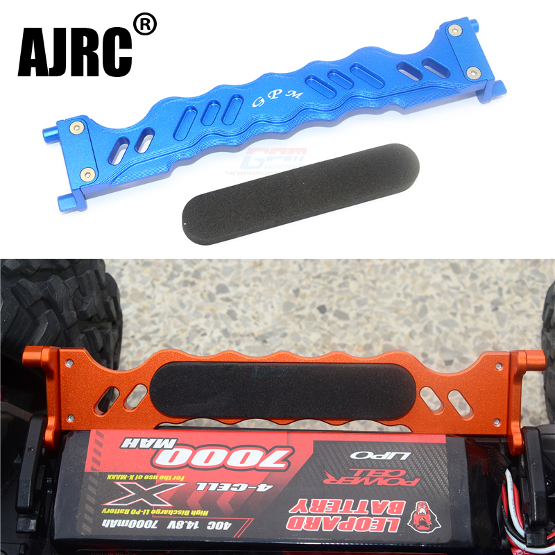 TRAXXAS 1/10 4s MAXX MONSTER TRUCK 89076-4 Aluminum Alloy With Exhaust Vent Battery Pressure Plate #8919