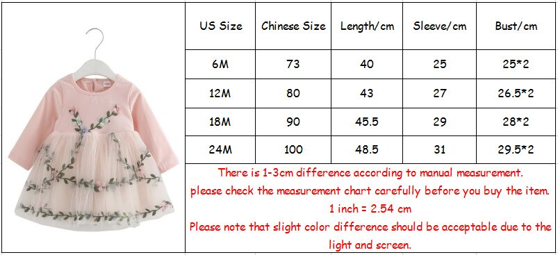 Baby Girl Lace Mesh Princess Dress Flowers Appliques Children Wedding Christening Dress For Kids Party Wear 6