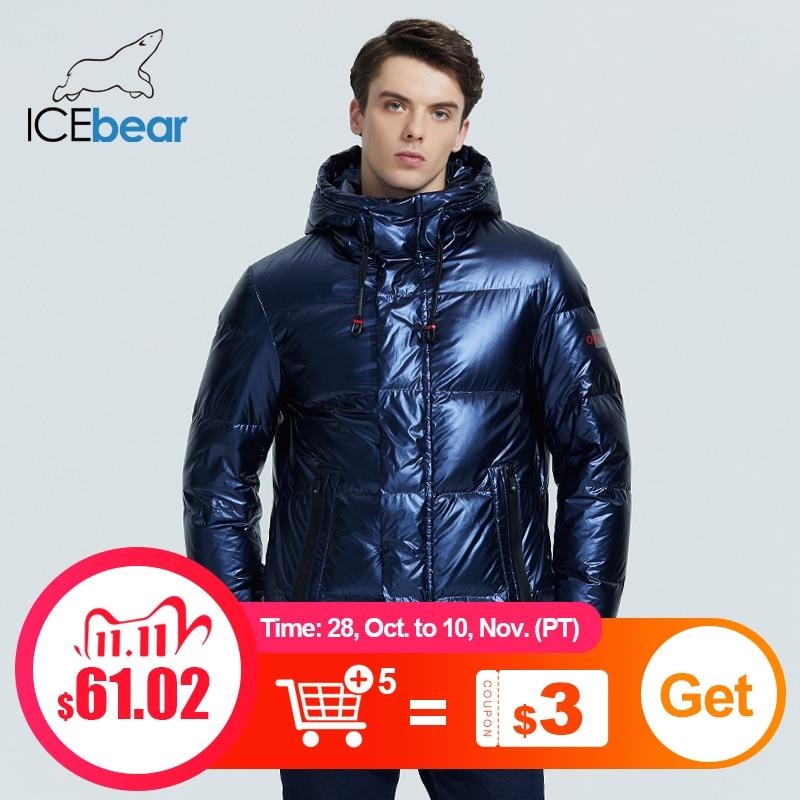 ICEbear 2020 осенью и зимой новый мужской пуховик с капюшоном повседневная толстая и теплая зимняя мужская одежда MWY20867D|Пуховики| | АлиЭкспресс