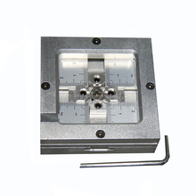 цена на Newest model LY-80H BGA reballing rework station 80x80mm 80*80mm stencils fixture clamp jig