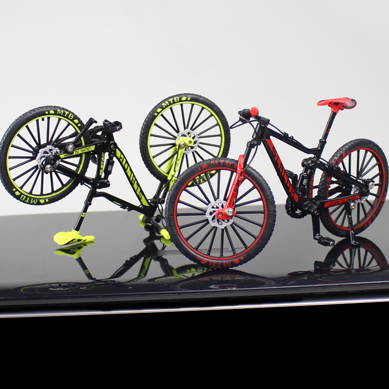 1:10 Alloy Bicycle Model Diecast Metal Finger Mountain bike