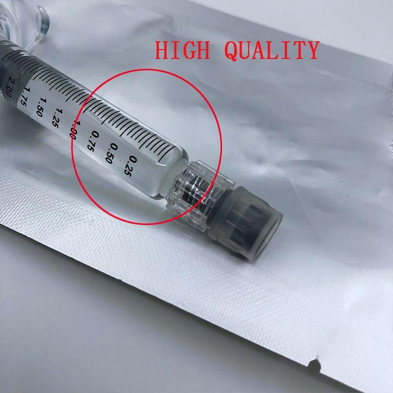 Remplisseur réticulé de lèvre de gel d'acide hyaluronique de 2ml injectable pour le rajeunissement de peau de remplisseur cutané d'amélioration de corps de lèvre de visage - 3