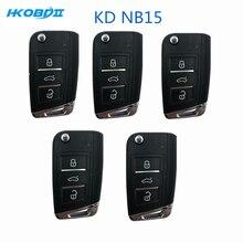 HKOBDII KEYDIY Original KD NB15 3 Buttons with Universial Chip Remote Key For KD900/KD X2/URG200 Remote
