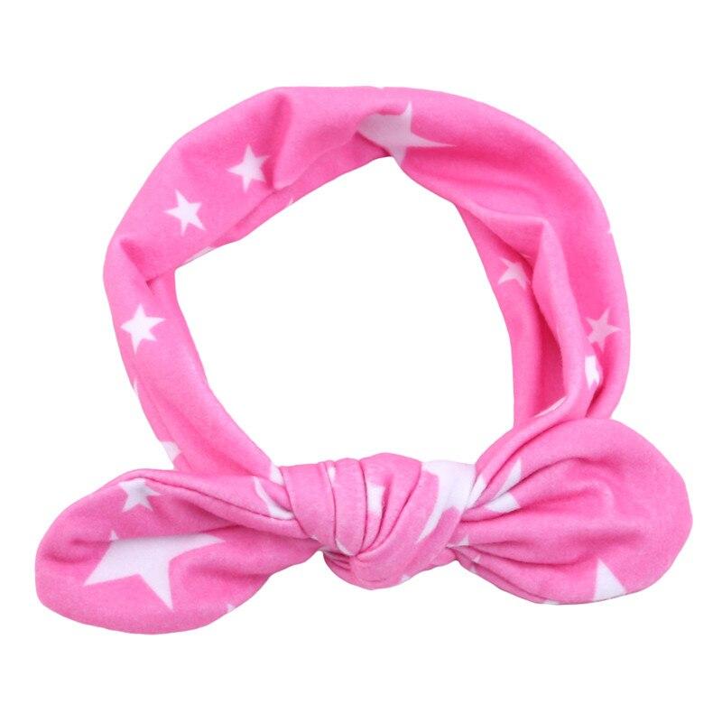 1 sztuk dziecko ucho królika opaski do włosów moda uroczy kwiat drukowane pałąk córka dziecko nakrycia głowy akcesoria do włosów
