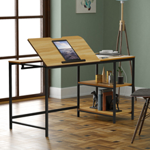 55 inch Multi-function Drafting Table Computer Pad Desk with Adjustable Tiltable Stand Table Board Multi-Function Drawing Table
