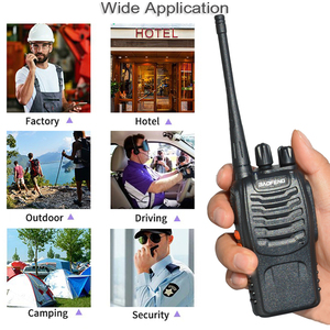Image 2 - 2 יח\סט baofeng BF 888S מכשיר קשר נייד רדיו תחנת BF888s 5W BF 888S Comunicador משדר משדר רדיו סט