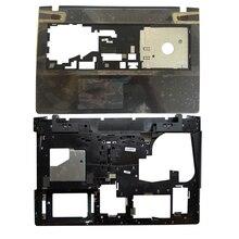 חדש עבור Lenovo Ideapad Y500 Y510 Y510P Palmrest עליון מקרה כיסוי אין Touchpad AP0RR00050/מחשב נייד תחתון בסיס מקרה כיסוי AP0RR00070