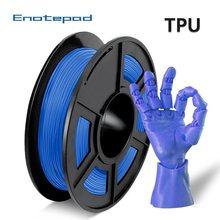 Enotepad 3D Printer Filament Tpu Filament 1.75Mm 1.1LBS 0.5Kg Lage Geur Dimensionale Nauwkeurigheid +/- 0.02Mm 3D Printing Filament