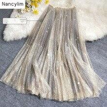 Fantasy Star Fairy Skirt Shake Voice Fashion Sparkling Heavy Industry Sequin Emb