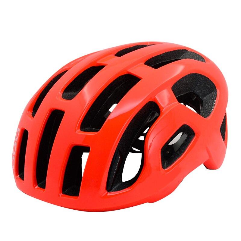 Casque de cyclisme hommes femmes ultraléger intégralement moulé vélo casque de vélo pneumatique route vélo Aero rouge casque casco ciclismo