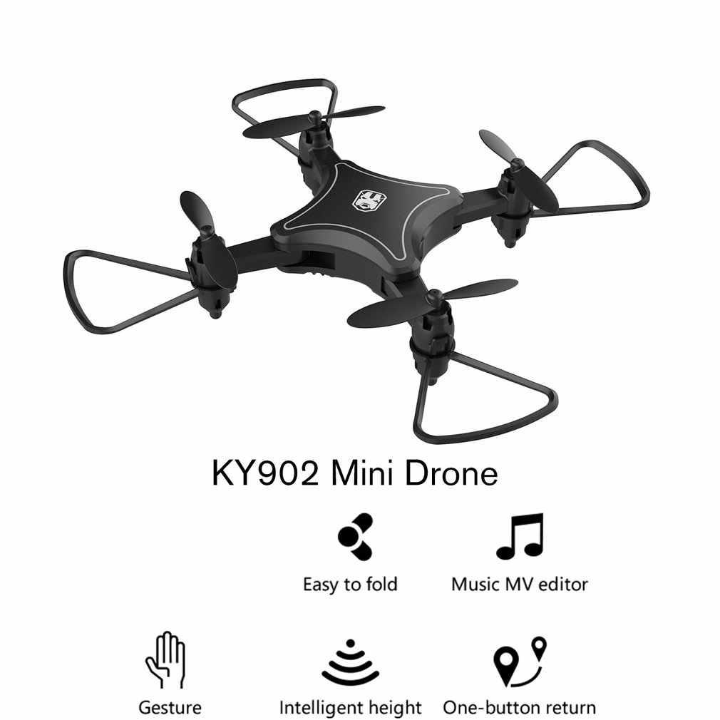 Мини Дрон Квадрокоптер с камерой 4K HD складные дроны один ключ возврат FPV Follow Me RC