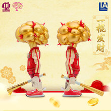 Trendy big toy authentic IATOYS THINKING? Big bang of mind and riches ornaments collection gifts