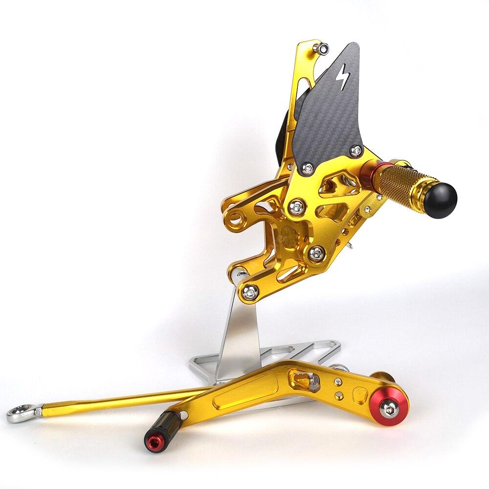 Купить мотоциклетная педаль cbr1000 cbr1000rr регулируемая подставка