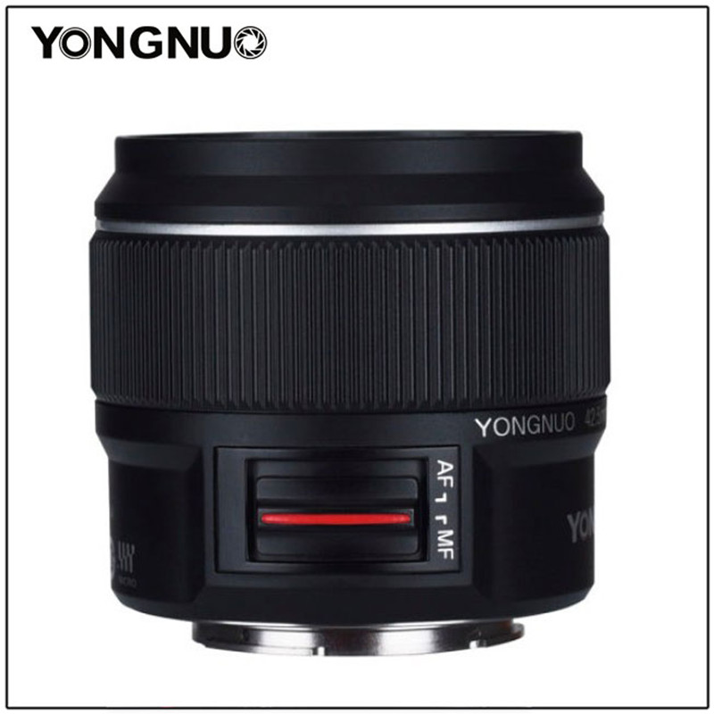 Yongnuo Yn42.5mm F1.7m Large Aperture Af/mf Lens Standard Prime Lens For M4/3 Mount Dslr Cameras For Gx85 Gf9 Olympus E-pl9 Penf Sale Price