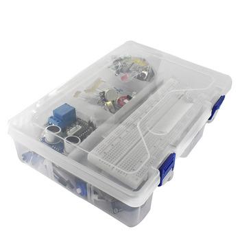 Zestaw startowy do arduino Uno R3 #8211 Uno R3 Breadboard i uchwyt krokowy silnik serwo 1602 LCD mostek UNO R3 tanie i dobre opinie CN (pochodzenie) Nowy REGULATOR NAPIĘCIA