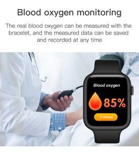 Image 5 - F20 Smart Watch Bluetooth Gọi Theo Dõi Đồng Hồ Đo Nhịp Tim Phát Hiện Nhiệt Độ PK IWO 8 12 F10 W68 W34