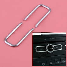 CITALL ABS CD Switch Sequin Trim Fit For Mercedes Benz A W176 B W246 CLA C117 GLA X156 GLE W166
